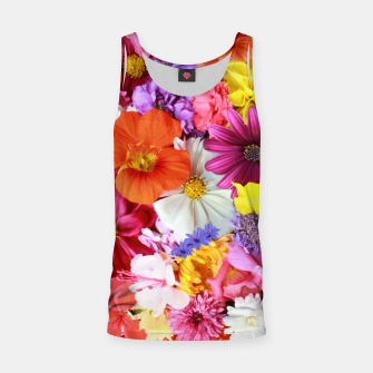 Thumbnail image of Bouquet Tank Top, Live Heroes
