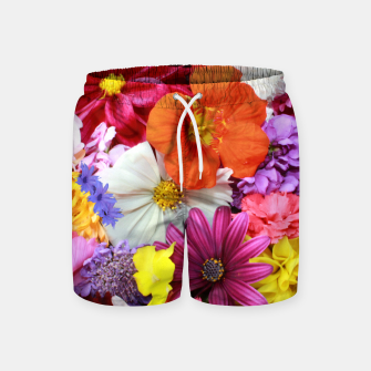 Miniatur Bouquet Swim Shorts, Live Heroes