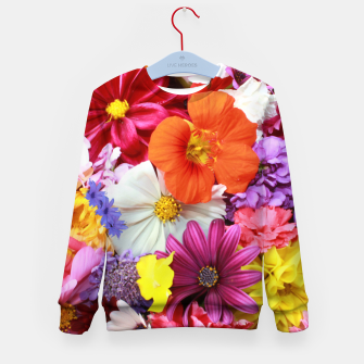 Thumbnail image of Bouquet Kid's sweater, Live Heroes