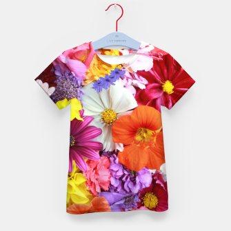 Thumbnail image of Bouquet Kid's t-shirt, Live Heroes
