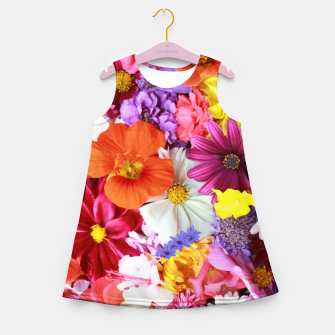 Thumbnail image of Bouquet Girl's summer dress, Live Heroes