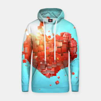 Thumbnail image of A heart full of boxes Hoodie, Live Heroes