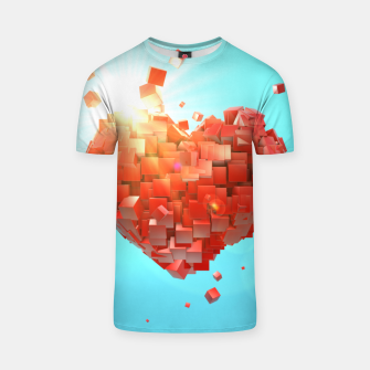 Miniaturka A heart full of boxes T-shirt, Live Heroes