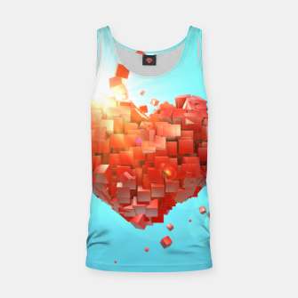 Thumbnail image of A heart full of boxes Tank Top, Live Heroes
