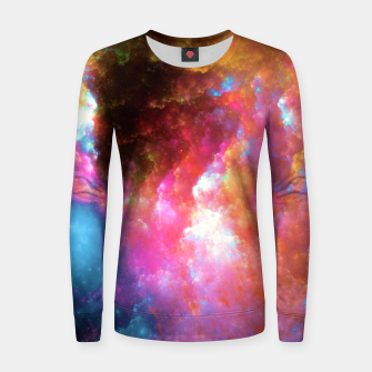 Thumbnail image of Nebula Women sweater, Live Heroes