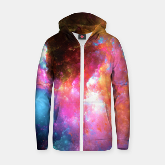 Thumbnail image of Nebula Zip up hoodie, Live Heroes
