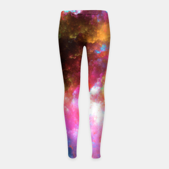Thumbnail image of Nebula Girl's leggings, Live Heroes