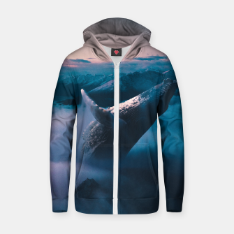 Thumbnail image of Ollie Zip up hoodie, Live Heroes