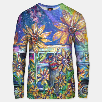 Thumbnail image of Retro Trip Unisex Sweater, Live Heroes
