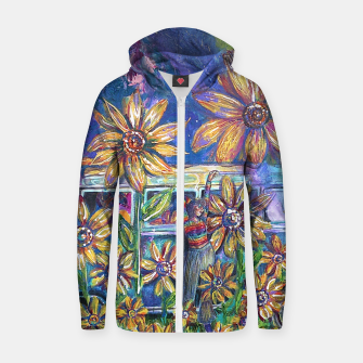 Thumbnail image of Retro Trip Zip Up Hoodie, Live Heroes