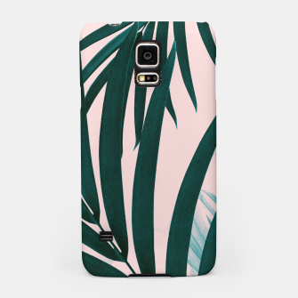 Thumbnail image of Palm & Monstera Leaves Mix #1 #foliage #decor #art Handyhülle für Samsung, Live Heroes