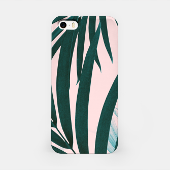 Miniatur Palm & Monstera Leaves Mix #1 #foliage #decor #art iPhone-Hülle, Live Heroes