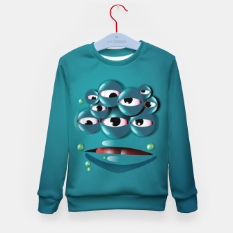 Miniatur Blue Monster Kid's sweater, Live Heroes