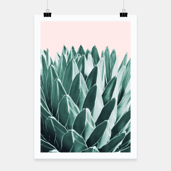 Thumbnail image of Agave Chic #10 #succulent #decor #art Plakat, Live Heroes