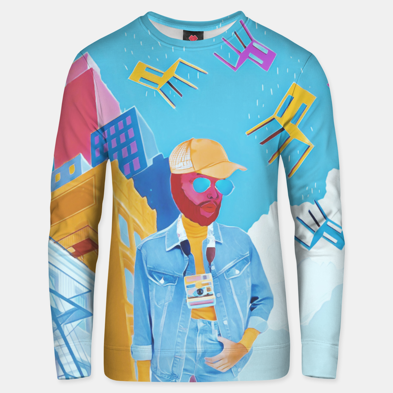 Image of Tourist Unisex sweater - Live Heroes