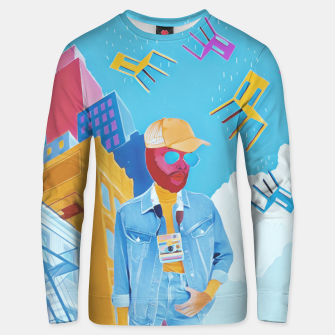 Tourist Unisex sweater thumbnail image