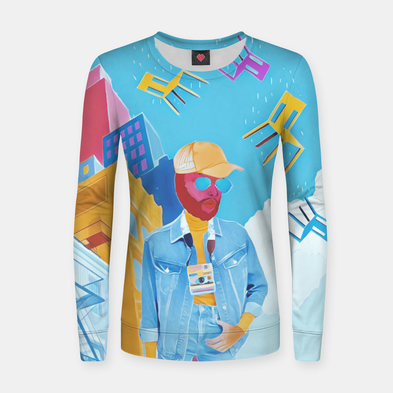 Image of Tourist Women sweater - Live Heroes