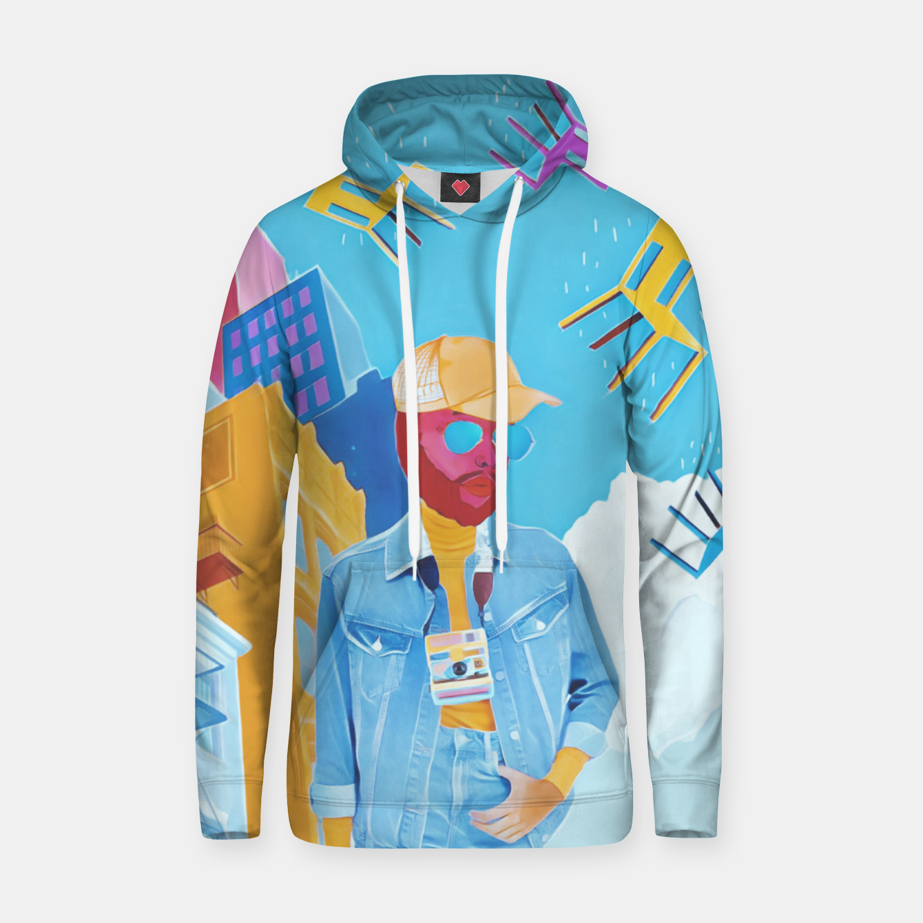 Image of Tourist Hoodie - Live Heroes