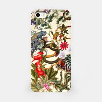 Miniatur botanical iPhone Case, Live Heroes