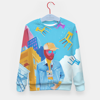 Thumbnail image of Tourist Kid's sweater, Live Heroes