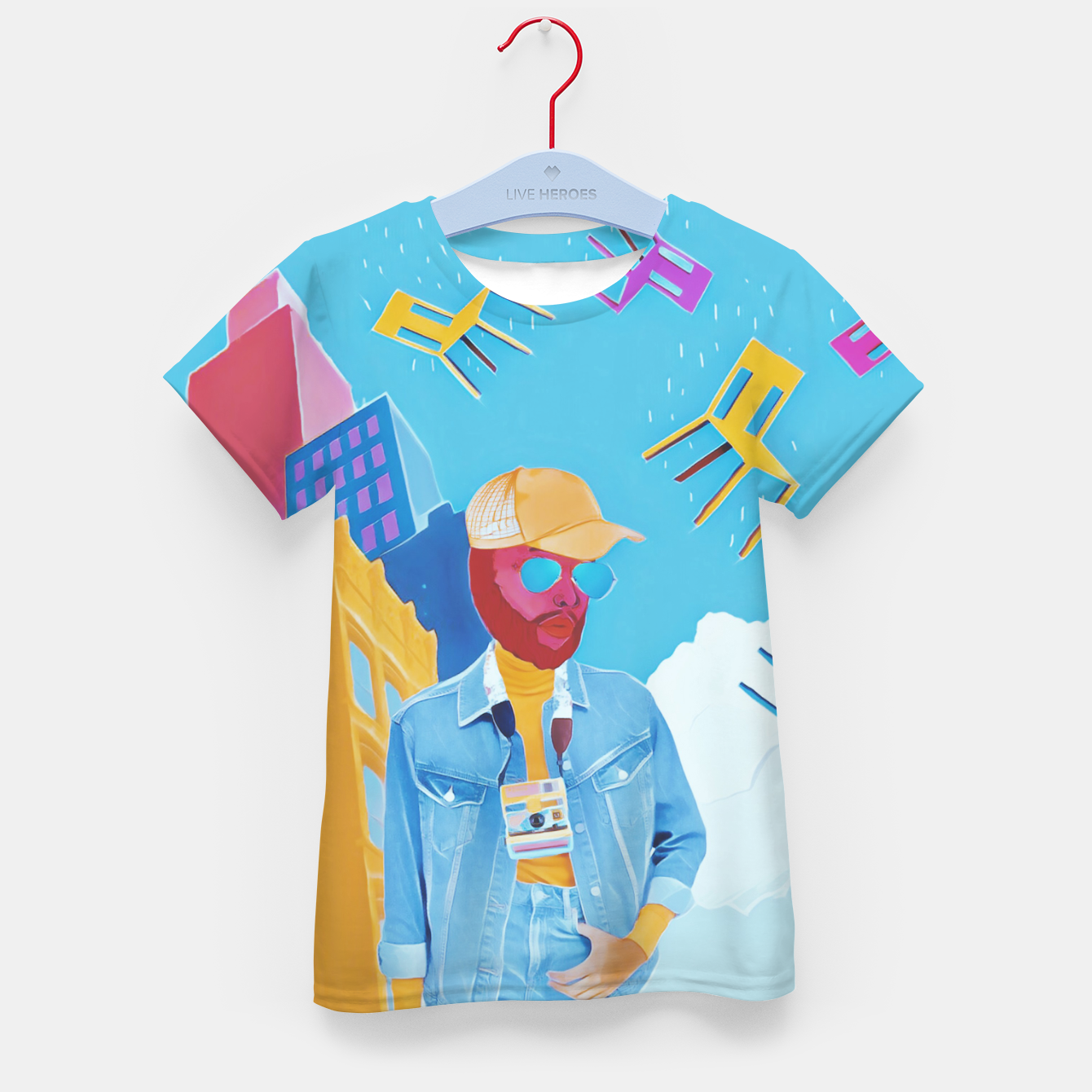 Image of Tourist Kid's t-shirt - Live Heroes