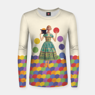 Thumbnail image of Magician Women sweater, Live Heroes