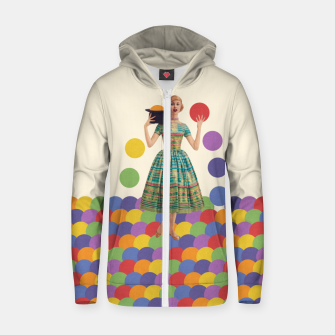 Thumbnail image of Magician Zip up hoodie, Live Heroes