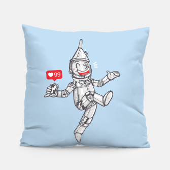 Thumbnail image of WE CAN'T LIVE WITHOUT SOCIAL MEDIA Pillow, Live Heroes