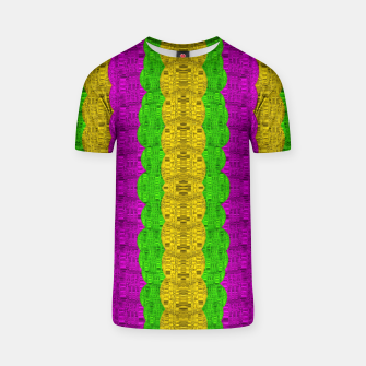 Thumbnail image of  Hipster or hippie in  pattern style T-shirt, Live Heroes