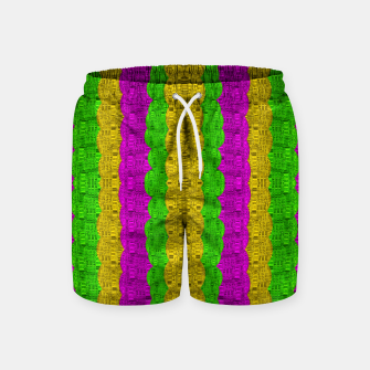 Miniature de image de  Hipster or hippie in  pattern style Swim Shorts, Live Heroes