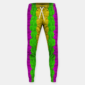 Miniature de image de  Hipster or hippie in  pattern style Sweatpants, Live Heroes