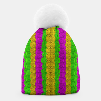 Thumbnail image of  Hipster or hippie in  pattern style Beanie, Live Heroes