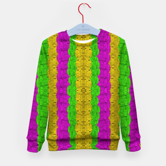 Miniature de image de  Hipster or hippie in  pattern style Kid's sweater, Live Heroes