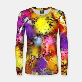 Thumbnail image of Pigment noise Women sweater, Live Heroes