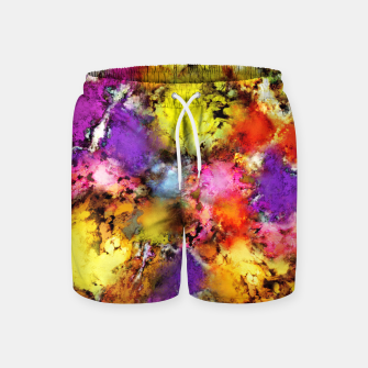 Thumbnail image of Pigment noise Swim Shorts, Live Heroes