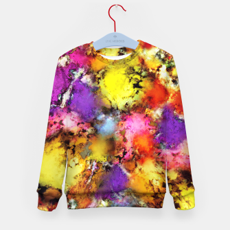 Thumbnail image of Pigment noise Kid's sweater, Live Heroes