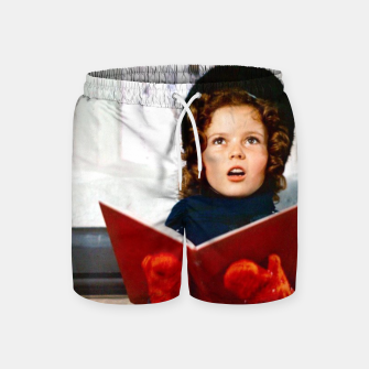 Shirley Temple Christmas Swim Shorts Bild der Miniatur