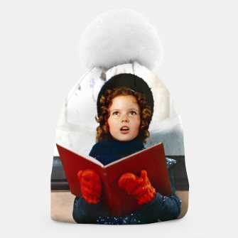 Thumbnail image of Shirley Temple Christmas Beanie, Live Heroes