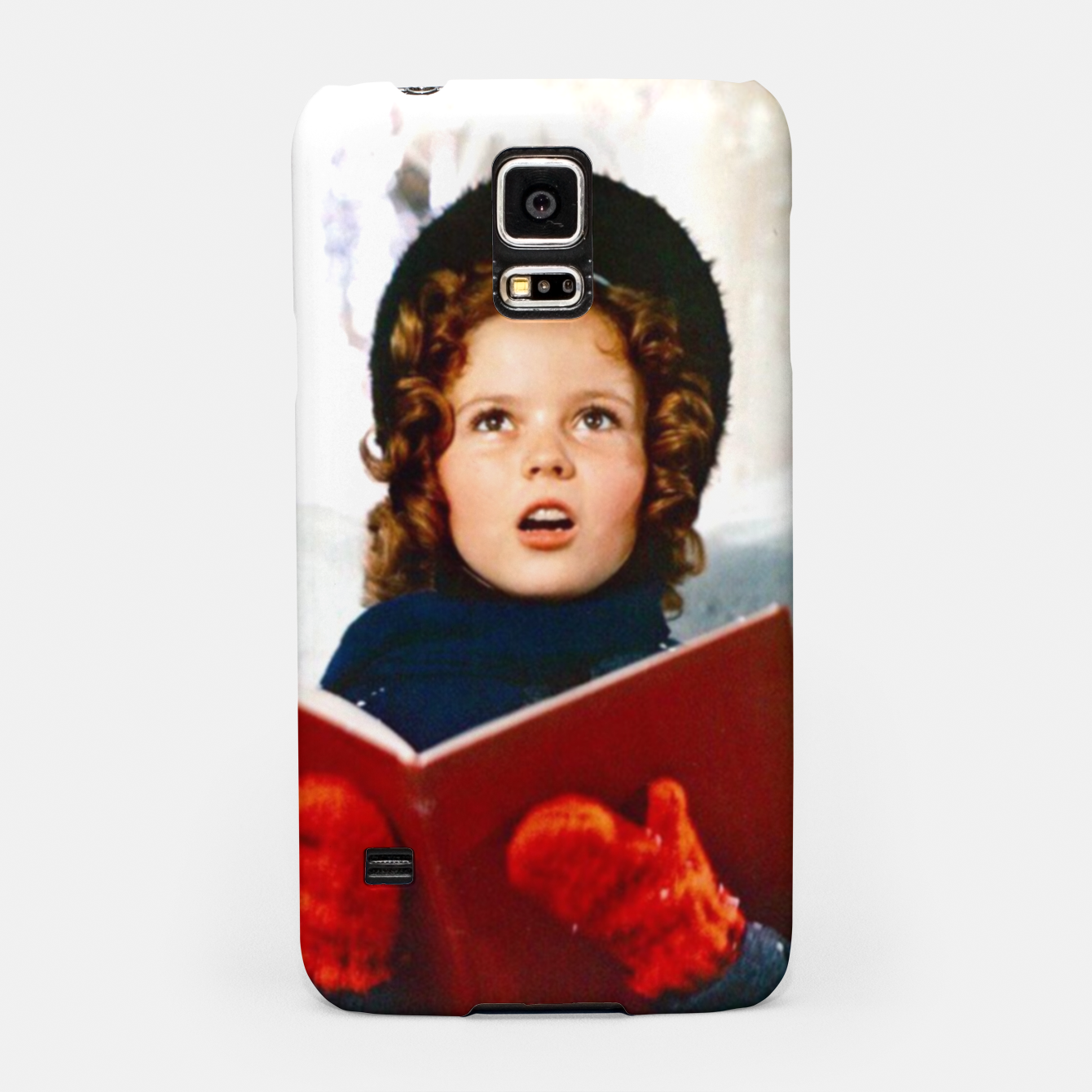 Foto Shirley Temple Christmas Samsung Case - Live Heroes