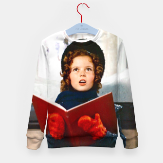 Shirley Temple Christmas Kid's sweater Bild der Miniatur