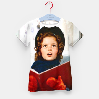 Shirley Temple Christmas Kid's t-shirt Bild der Miniatur