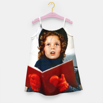 Shirley Temple Christmas Girl's dress Bild der Miniatur