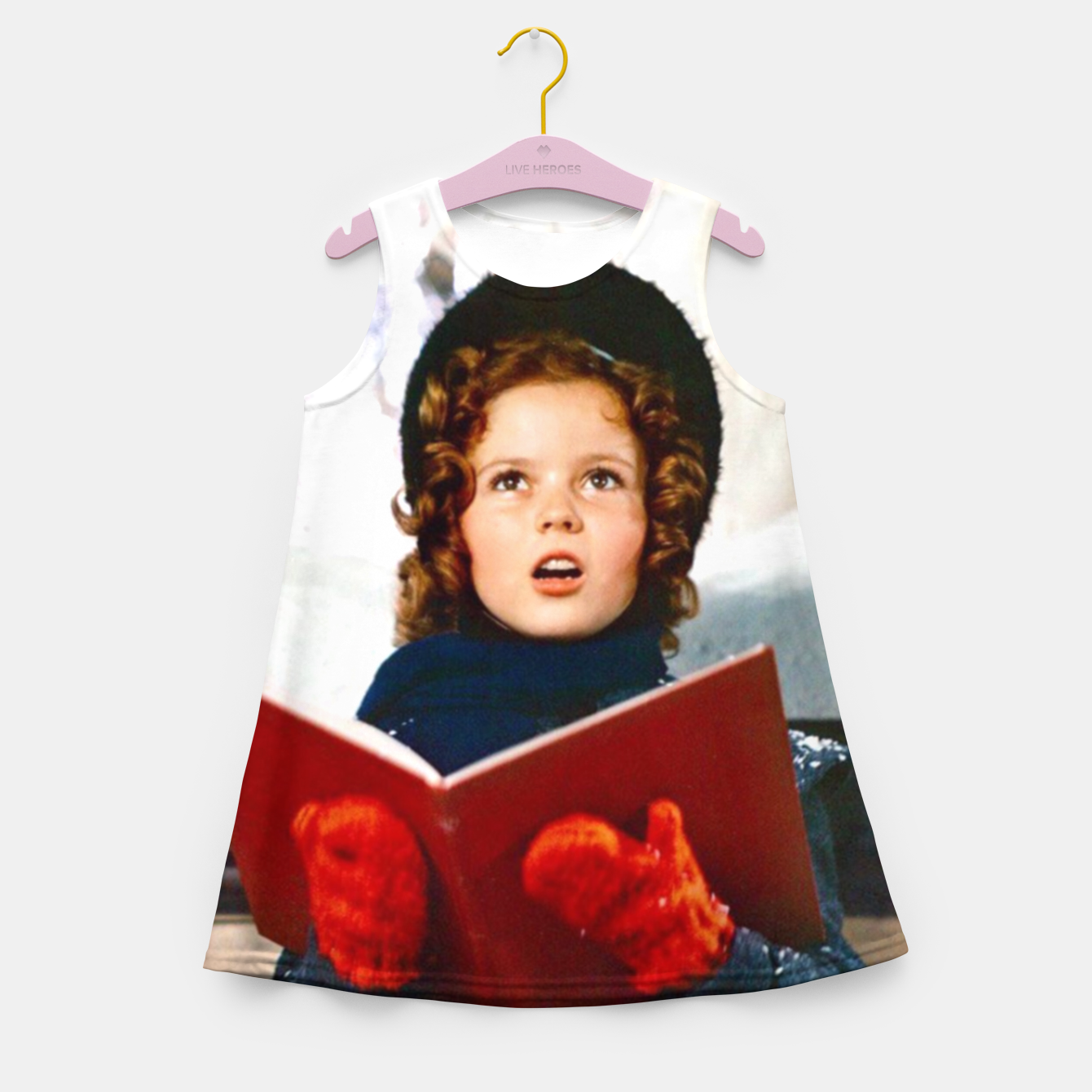 Foto Shirley Temple Christmas Girl's summer dress - Live Heroes