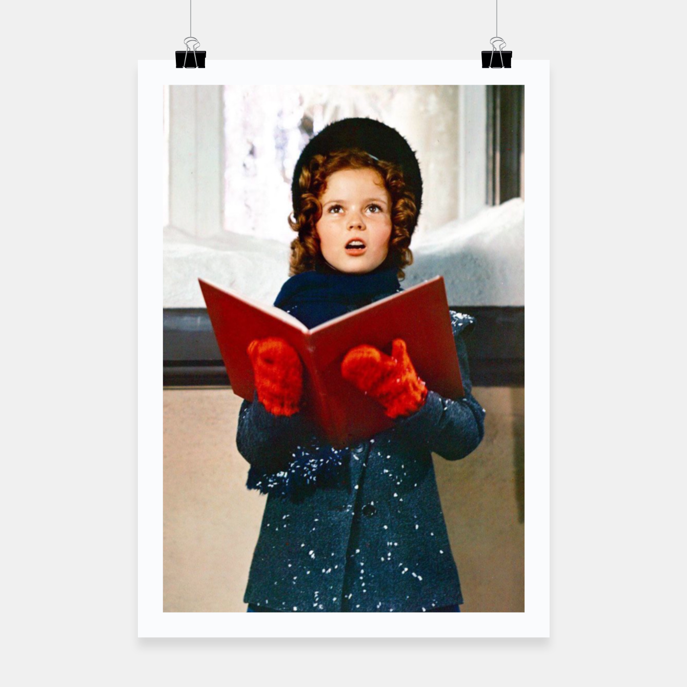 Foto Shirley Temple Christmas Poster - Live Heroes