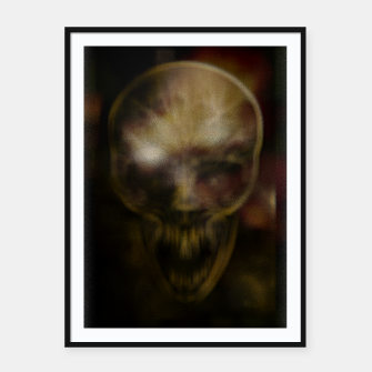 Shadow Skull Framed poster thumbnail image