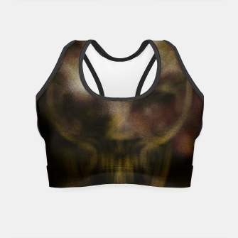 Miniaturka Shadow Skull Crop Top, Live Heroes