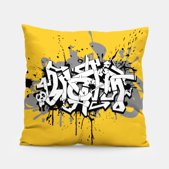 Thumbnail image of Graffiti Coussin, Live Heroes