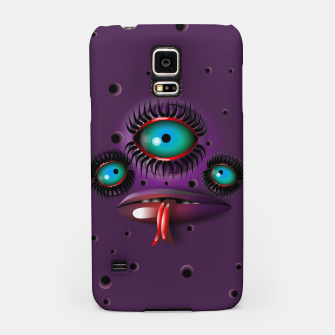 Thumbnail image of Purple Monster Samsung Case, Live Heroes