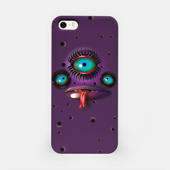 Thumbnail image of Purple Monster iPhone Case, Live Heroes
