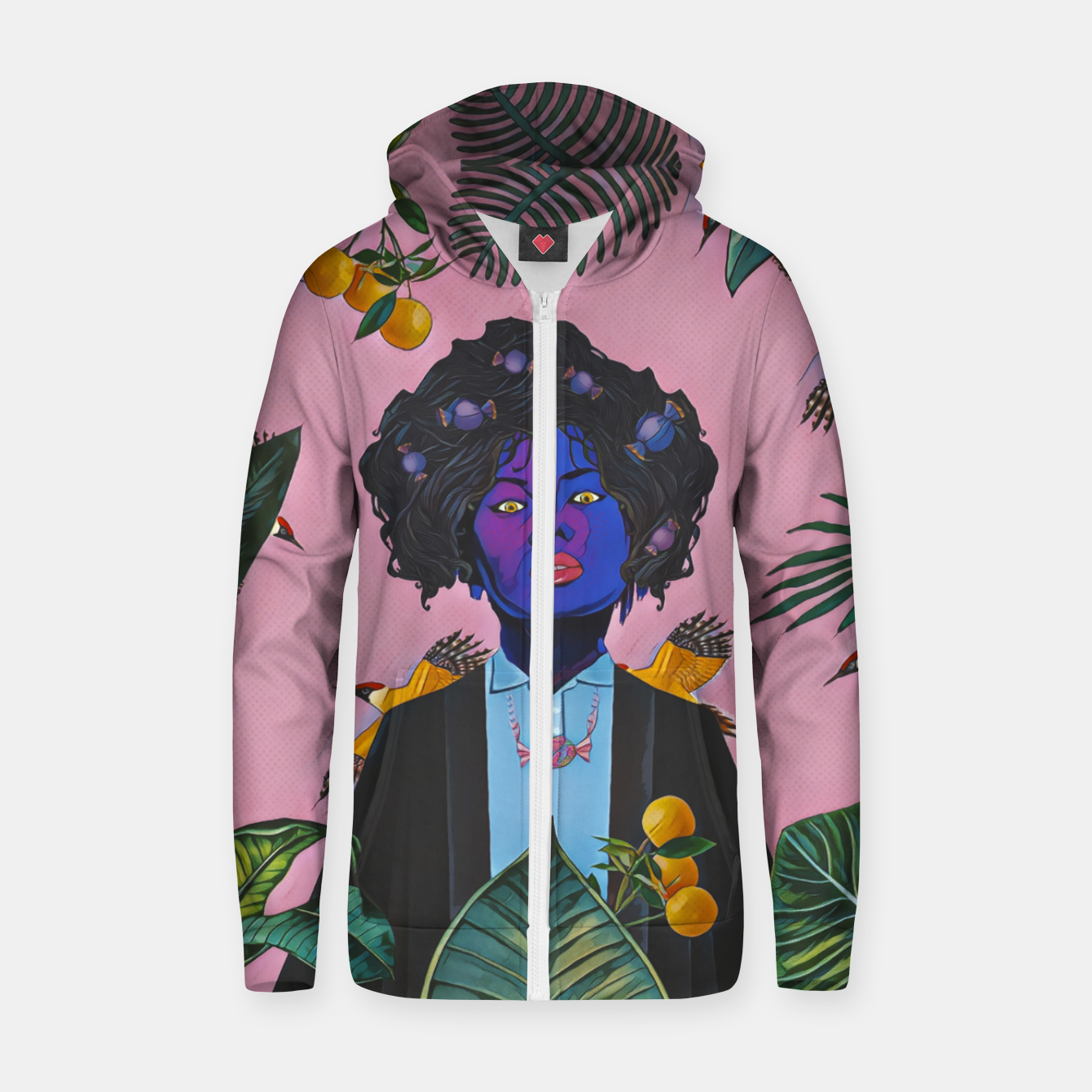 Image of Candy Zip up hoodie - Live Heroes